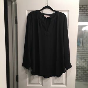 Loft tunic blouse